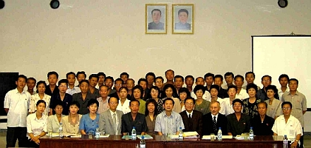TVET Workshop in Pyongyang: group photo